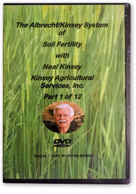 Albrecht/Kinsey System of soil fertility full 3-Day course DVD box set cover image