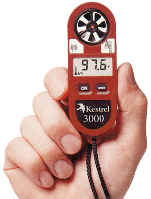 Pocket Weather Meter - Kestrel 3000