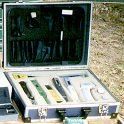 Meter Kits in carry case combination.