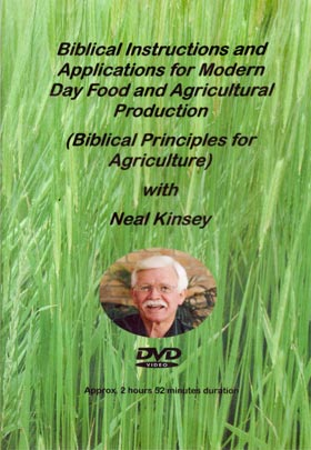 Neal Kinsey: Biblical Principles for Agriculture DVD cover image