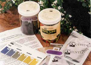 The revolutionary Solvita Soil Life test kit